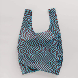Reusable Shopping Bag, Trippy Checker