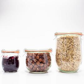 Canning Jars, Tulip Round (sets of 6)
