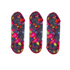 Reusable Cotton Day Pad, 3 Pack
