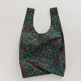 Reusable Shopping Bag, Black Calico