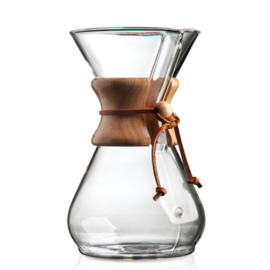 Chemex Glass Coffeemaker, 8 Cup