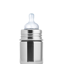 5oz Pura Baby Bottle Natural Stainless