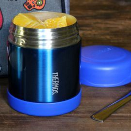10oz Funtainer Food Jar Blue