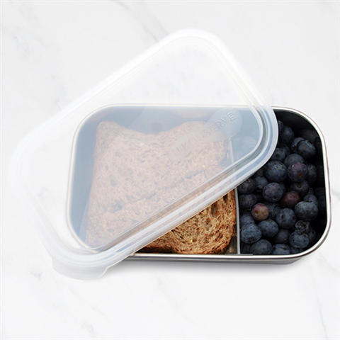 Rectangle Container w/ divider lid