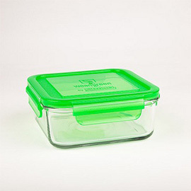 28oz Glass Meal Cube