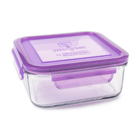 28oz Glass Square Meal Cube