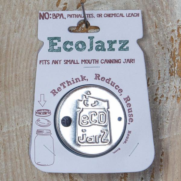 EcoJarz Stainless Steel Reusable lid