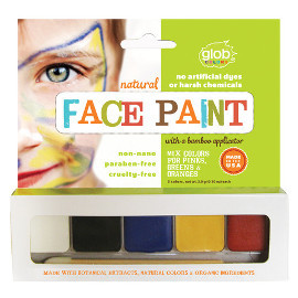 Natural Face Paint Set