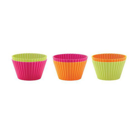 Silicone Muffin Cups, Set of 6