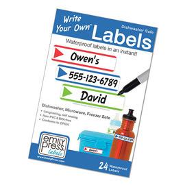 pvc-free labels stripes