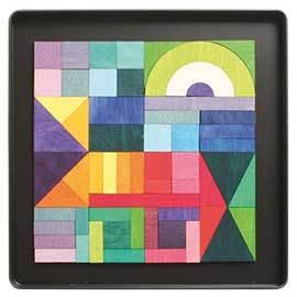 Wood Magnet Puzzle