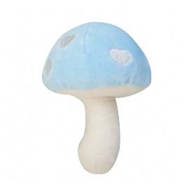 Organic Velour Mushroom Rattles