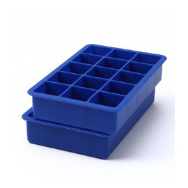 Silicone Ice Cube Trays, set of 2
