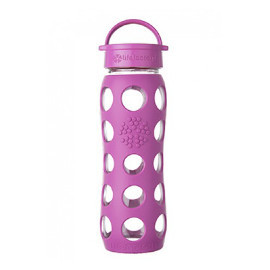 22 oz Glass Water Bottle with Screw Cap