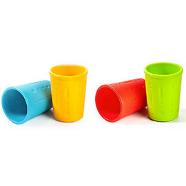 Little Bites Silicone Cups, set of 2