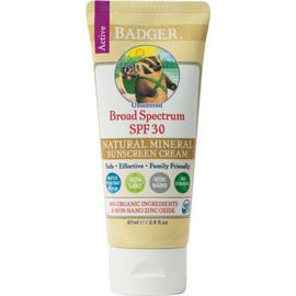SPF 30 Unscented Active Broad Spectrum Sunscreen (2.9oz)