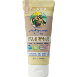 Tinted Zinc Oxide Sunscreen, SPF 30