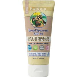 Tinted Zinc Oxide Sunscreen, SPF 30