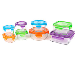 Wean Green Glass Storage (Set of 8)