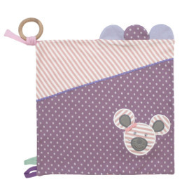 Organic Activity Blanket, Ballerina Mouse