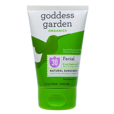 facial mineral sunscreen