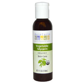 Organic Vegetable Glycerin, 4 oz.