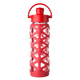 22oz Glass Water Bottle with Active Flip Cap