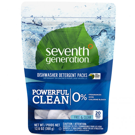 seventh generation dishwasher pacs