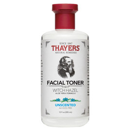 Alcohol-Free Unscented Witch Hazel Toner, 12 oz.