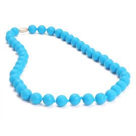 chewbeads jane necklace - deep sea blue