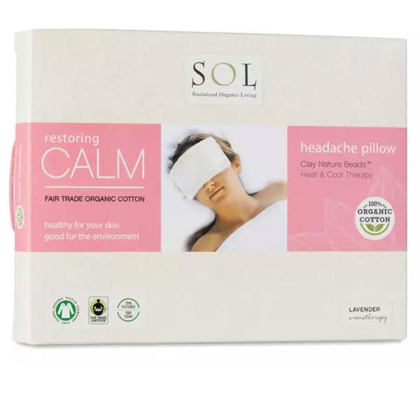organic headache pillow