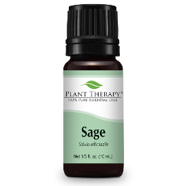 Sage Essential Oil, 10ml