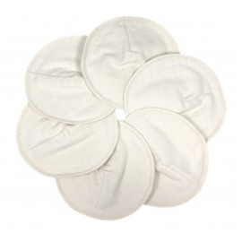 natural Reusable Organic Cotton Nursing Pads