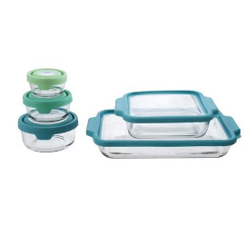 glass baking and storage set