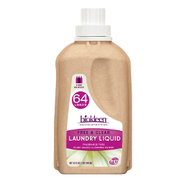 biokleen laundry liquid eco bottle