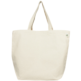 Recycled Cotton Canvas Tote Bag