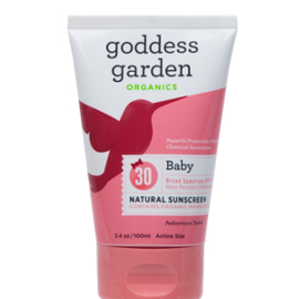 Natural Mineral Baby Sunscreen