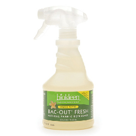 Bac-Out Fresh Natural Fabric Refresher, Lemon-Thyme (16 oz.)