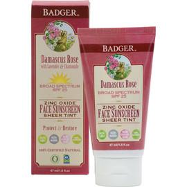 SPF25 Sheer Tint Rose Face Sunscreen