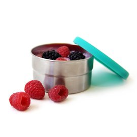 stainless steel cup with silicone lid