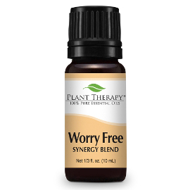 Worry Free Essential Oil Blend, 10 ml