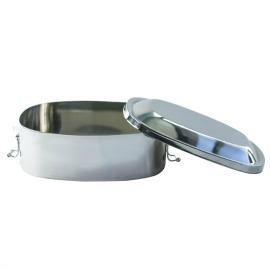 26oz Oval Container with Clamp Lid