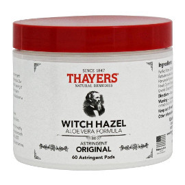 hayers witch hazel pads
