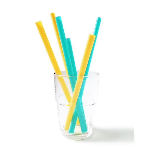 Reusable Silicone Straws, Multipack