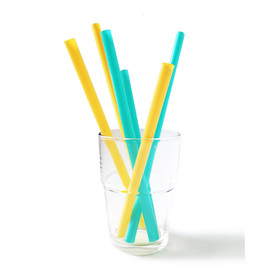 Reusable Silicone Straws, Multi-Size
