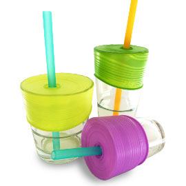 Siliskin Universal Straw Tops (3-pack)