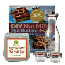 DIY Nut Milk + Nut Butter Kit