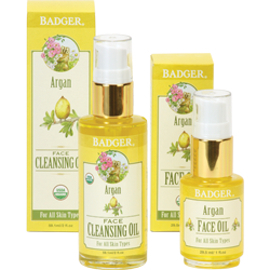 Organic Argan Oil Cleansing Starter Set