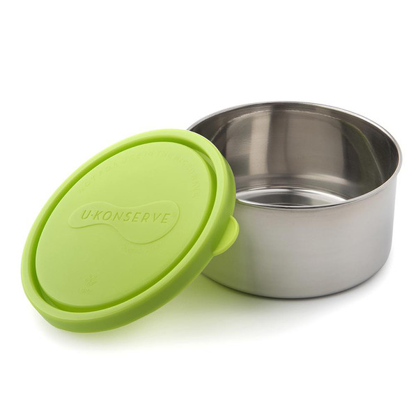 9oz Stainless Steel Round Food Container