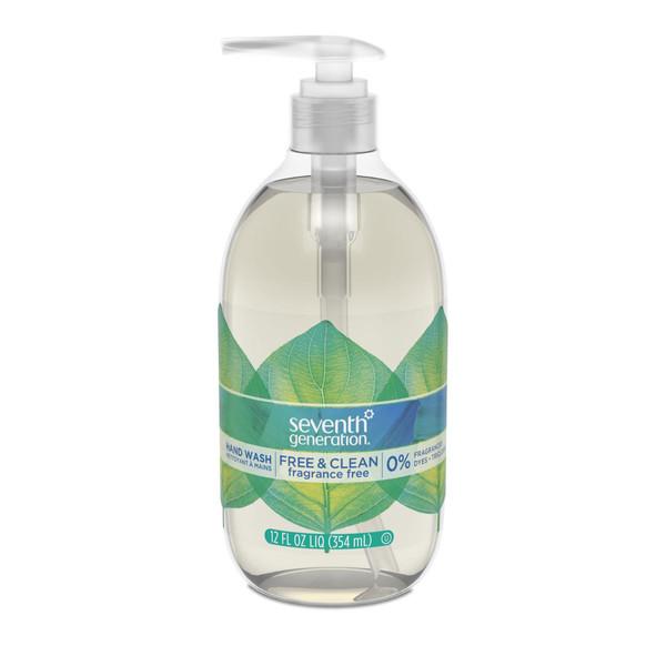 Natural Hand Wash, 12 oz.